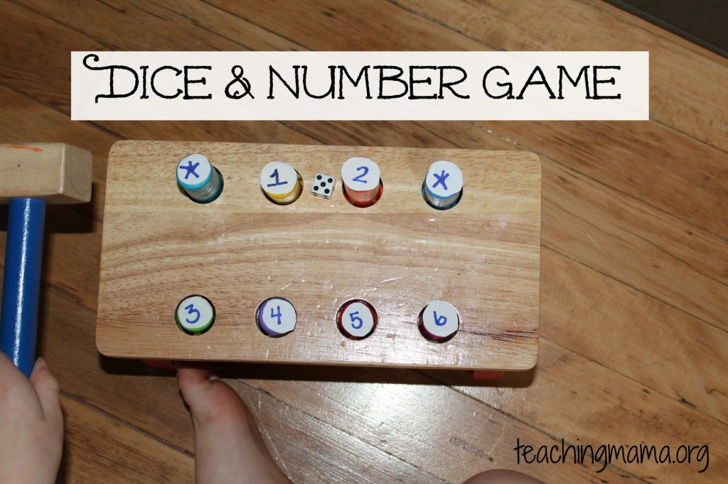 Dice & Number Game