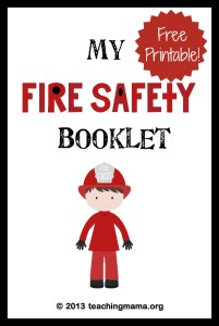 Letter F Activities — Fire Safety Week