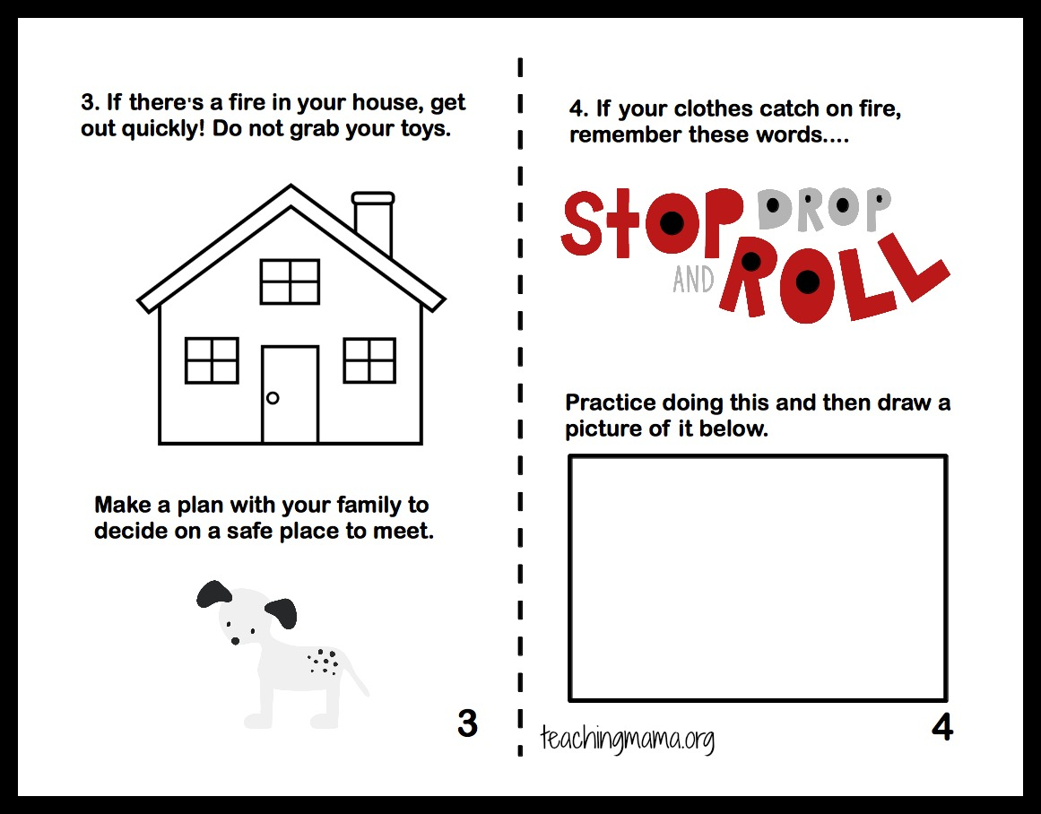 Safety Worksheets For Kids Davezan – Fire Safety Worksheets for Kindergarten