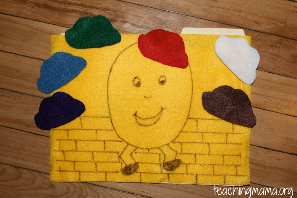 Humpty Dumpty Color Activity