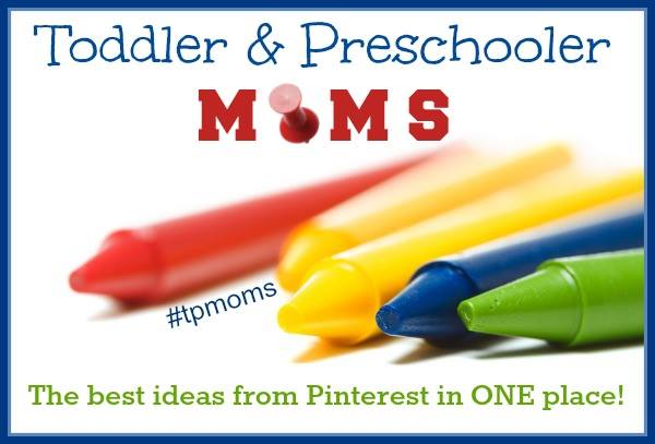 Pinning Party for Toddler and Preschool Moms