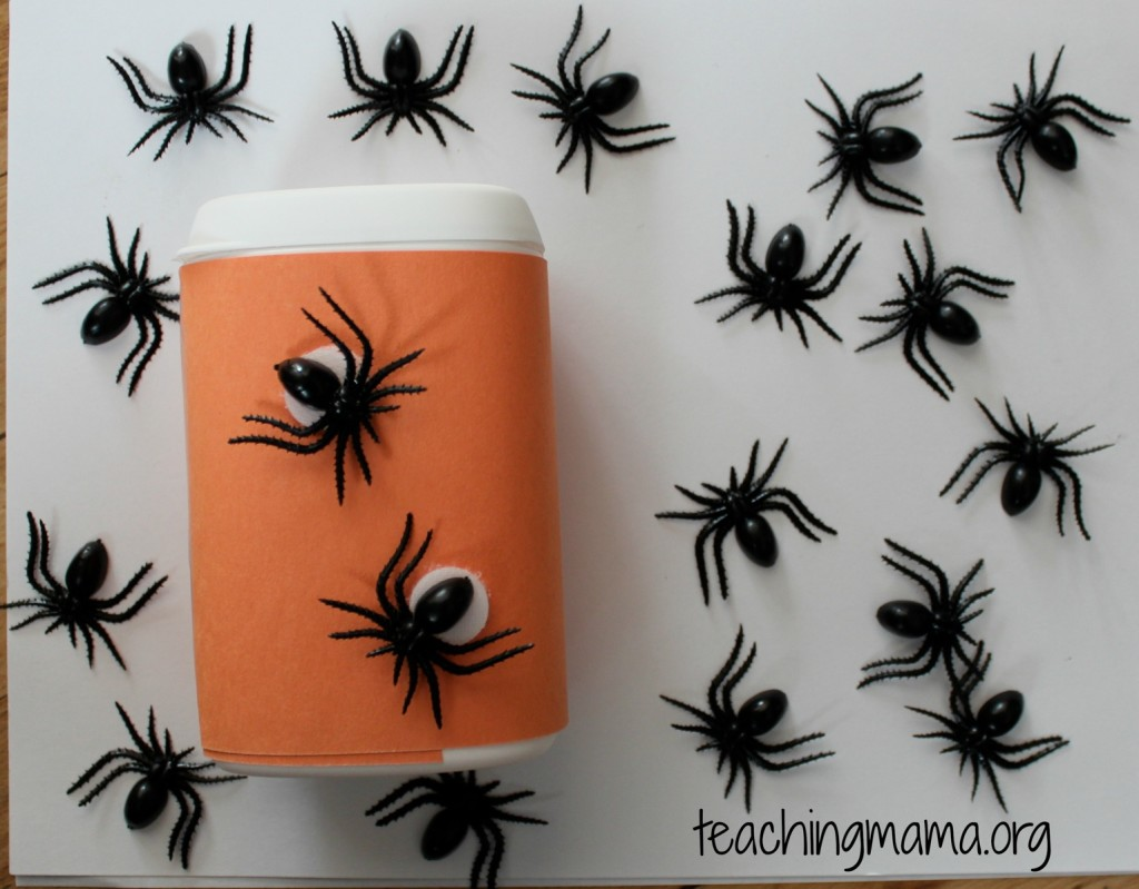 Spider Busy Bag Activity