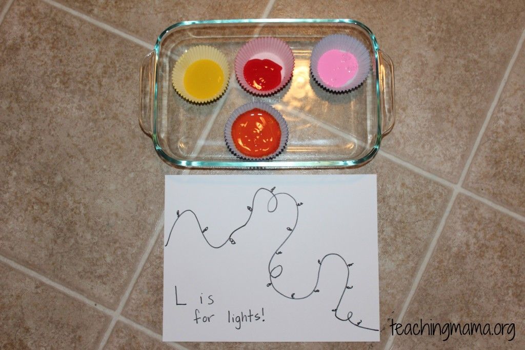 L is for Light Activity