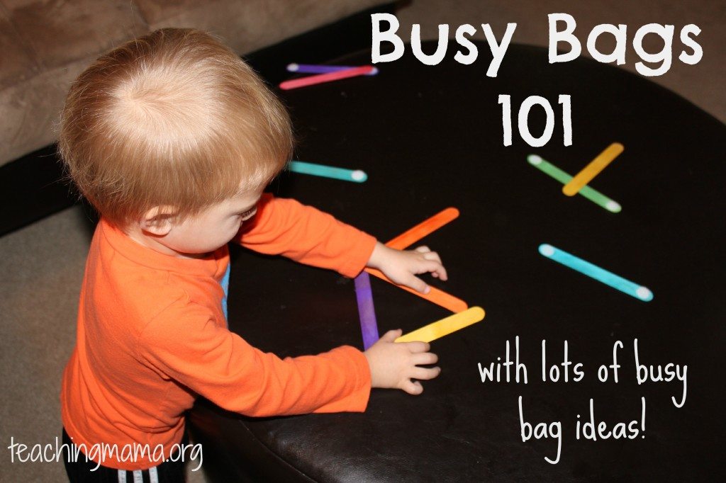 Busy Bags 101 And Lots Of Bag Ideas