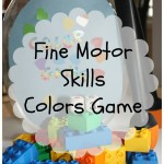 Fine Motor Skills Colors Game {guest post}