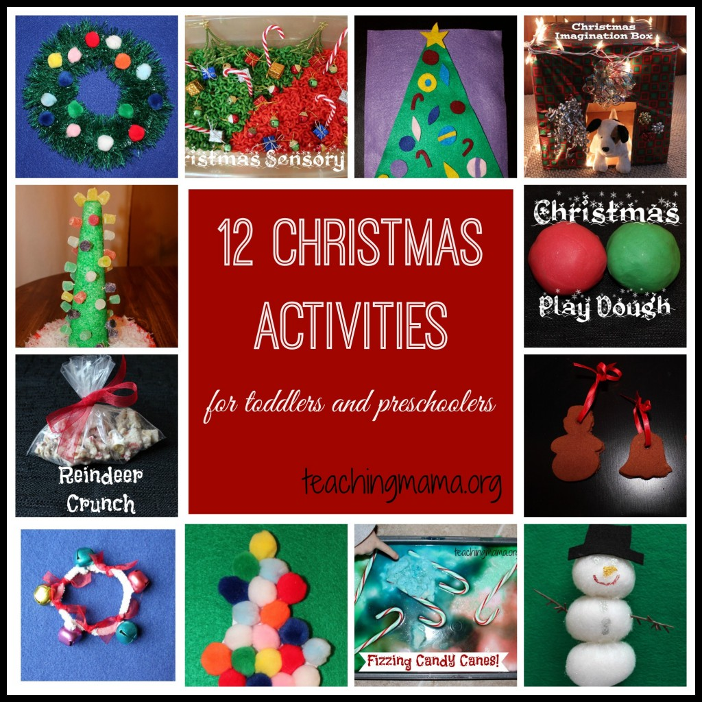 12 Christmas Activities for Toddlers and Preschoolers