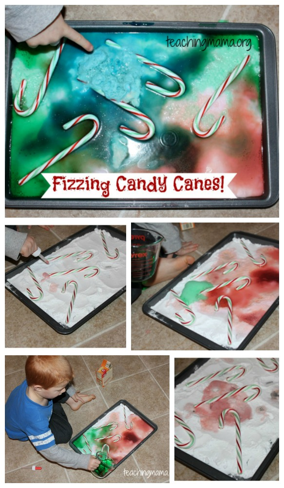 Fizzing Candy Canes
