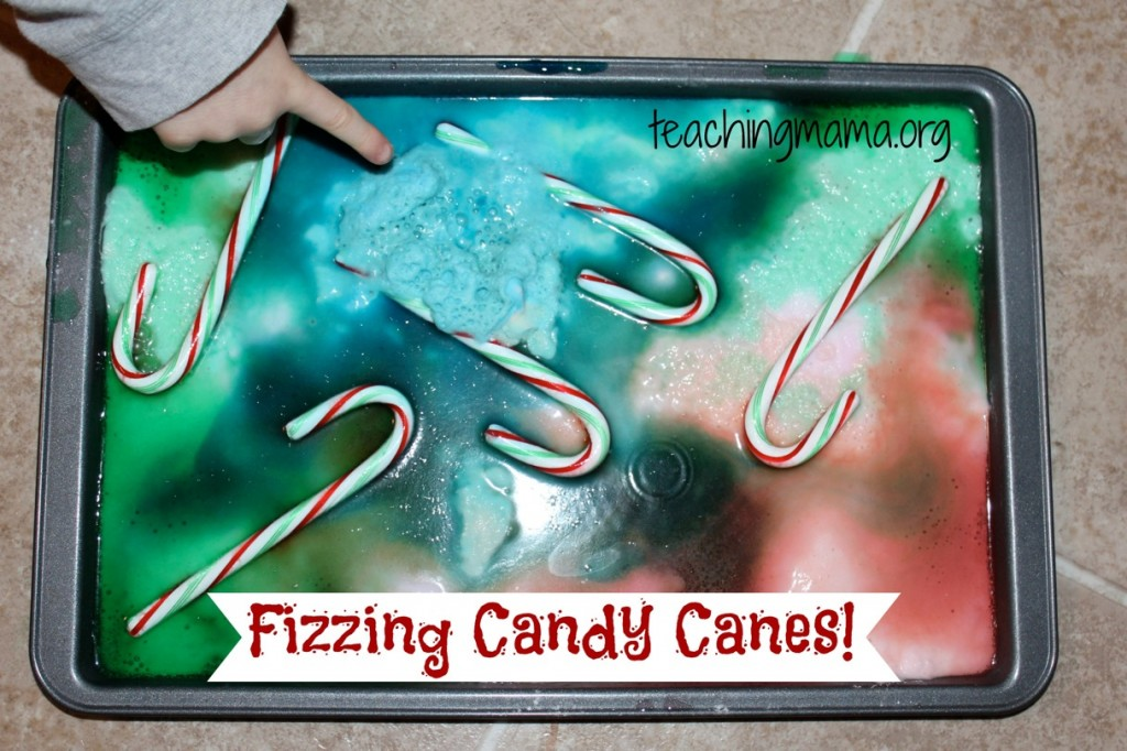 Fizzing Candy Canes Experiment