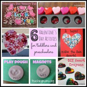 6 Valentine's Day Activities for Toddlers & Preschoolers