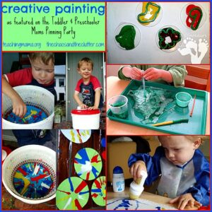 Creative Painting Ideas & Pinning Party #17