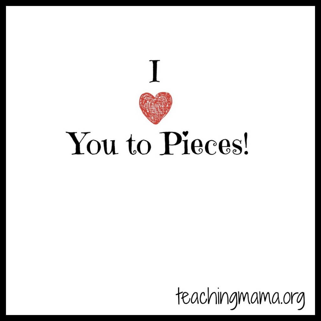 Love You to Pieces