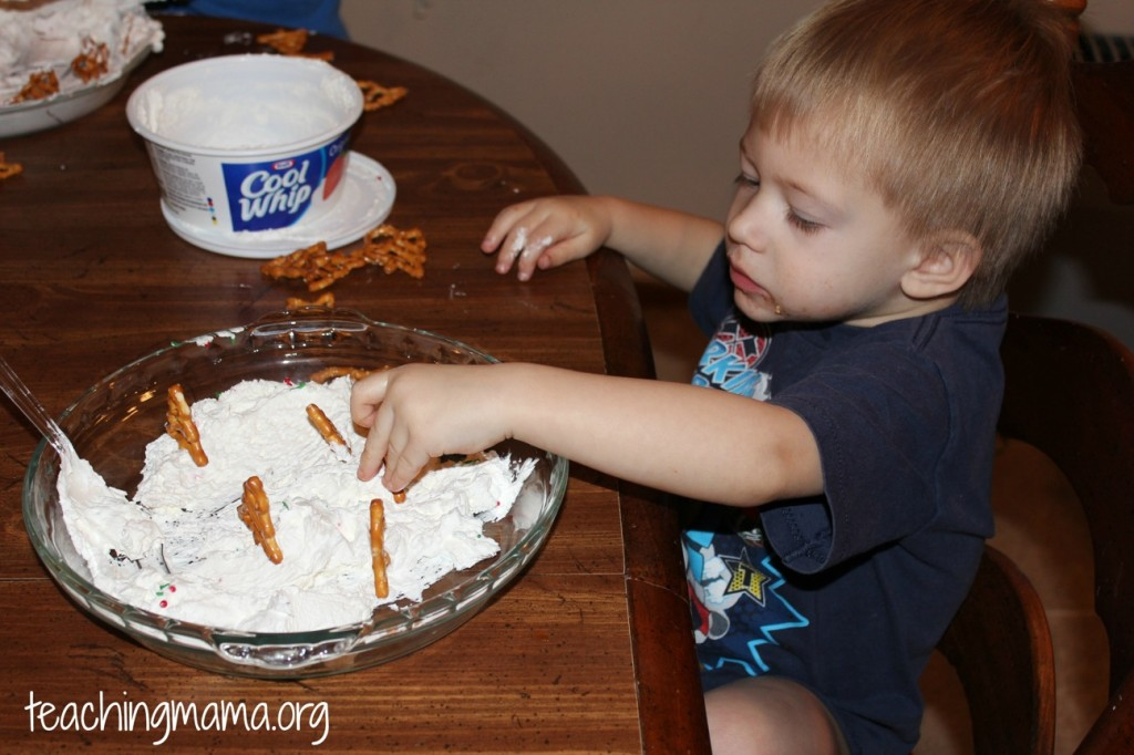Playing with Whipped Cream