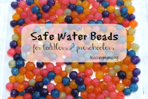 Safe Water Beads for Toddlers