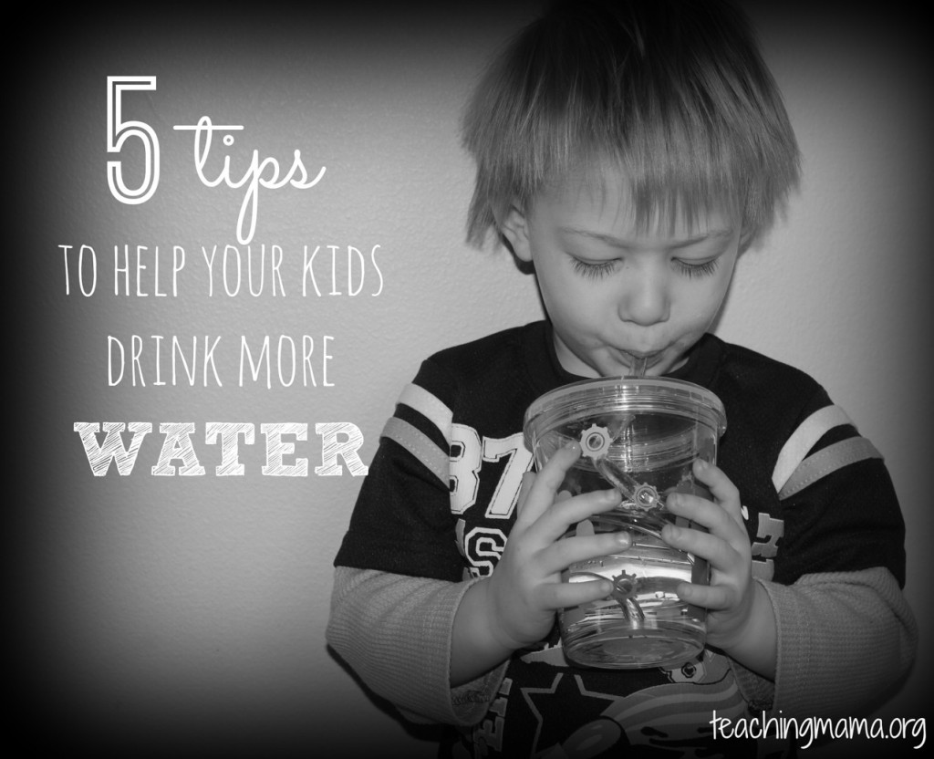 5 Tips to Help Your Kids Drink More Water