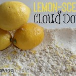 Lemon-Scented Cloud Dough