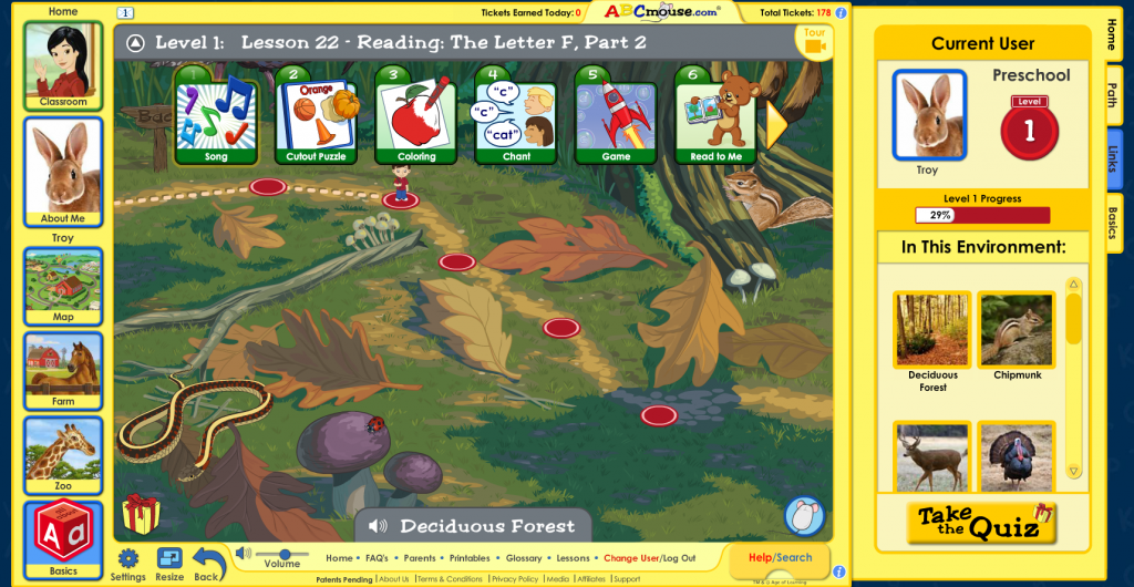 Learning Path for ABCmouse.com