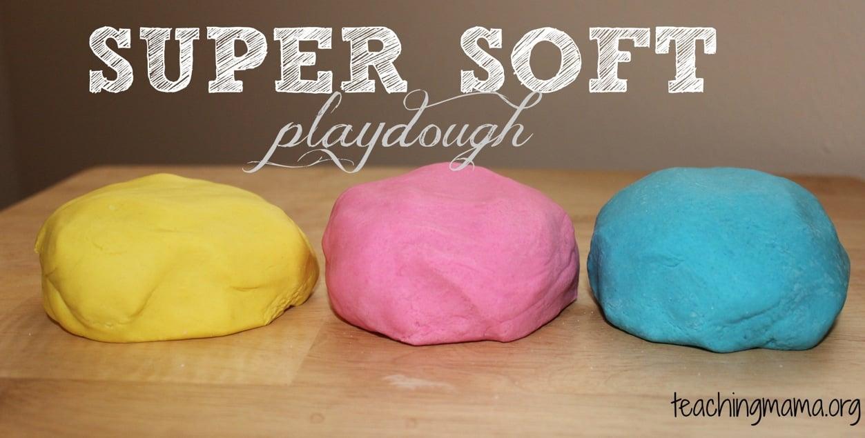super soft playdough recipe