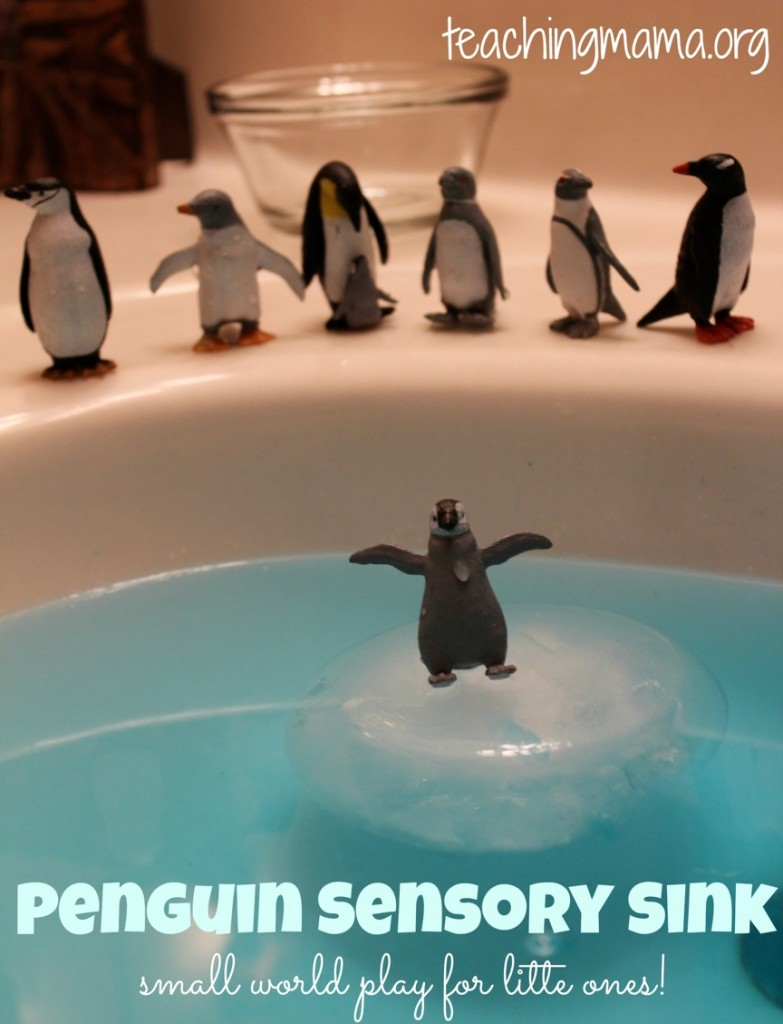 Penguin Sensory Sink