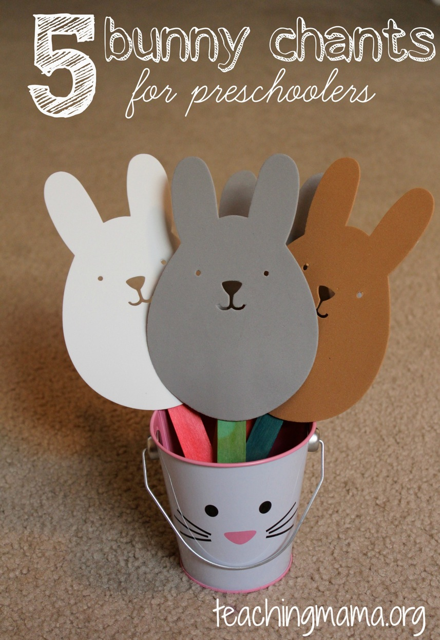 bunny preschool crafts 5 bunny chants for preschoolers 683