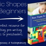 Basic Shapes for Beginners {review & giveaway}
