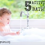 5 Fun Activities for Kids in the Bathtub