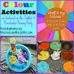 Colour Activities & Pinning Party #27