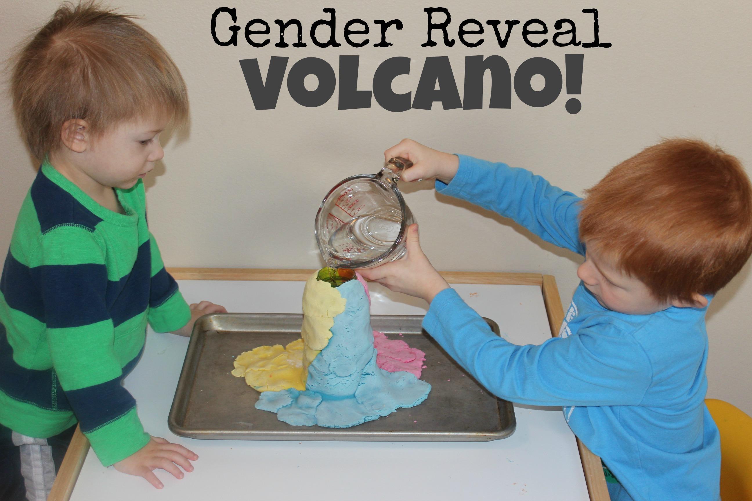 Gender Reveal Volcano