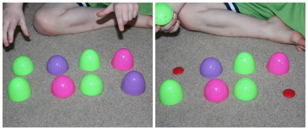 Memory Game with Eggs