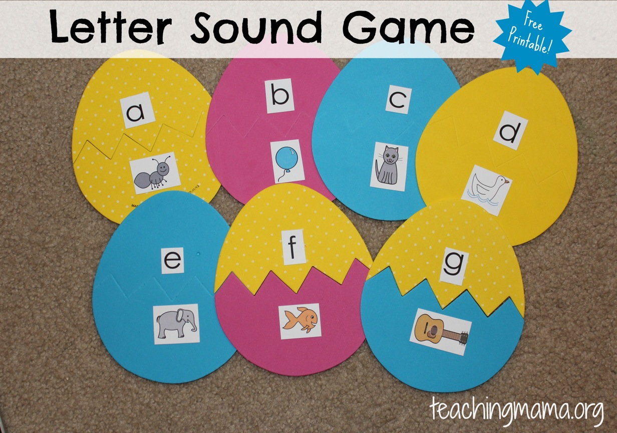 letter sound games letter sound matching 12335 | Letter Sound Game