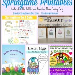 Springtime Printables and Pinning Party #28