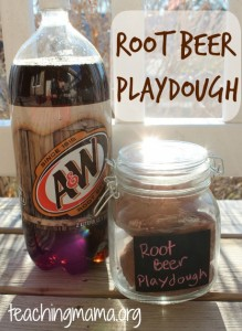 Root Beer Playdough