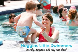 Huggies Little Swimmers Pool Party