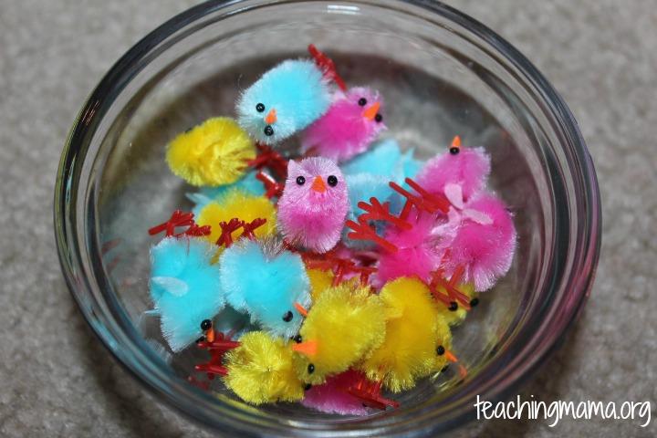Little Chicks from Hobby Lobby