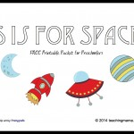 S is for Space — Letter S Printables