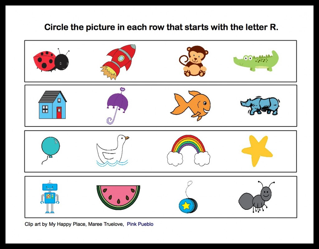 here your students will see several pictures and will have to think of the word which represents each one some pictures words will have the r sound and