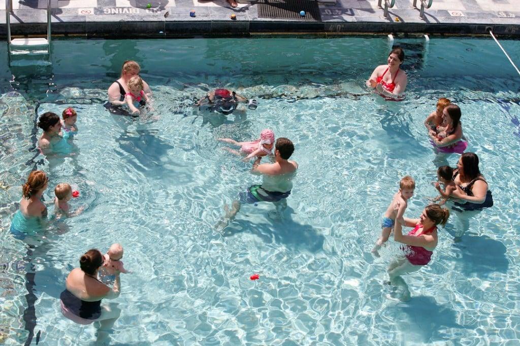 Huggies Pool Party Play-date