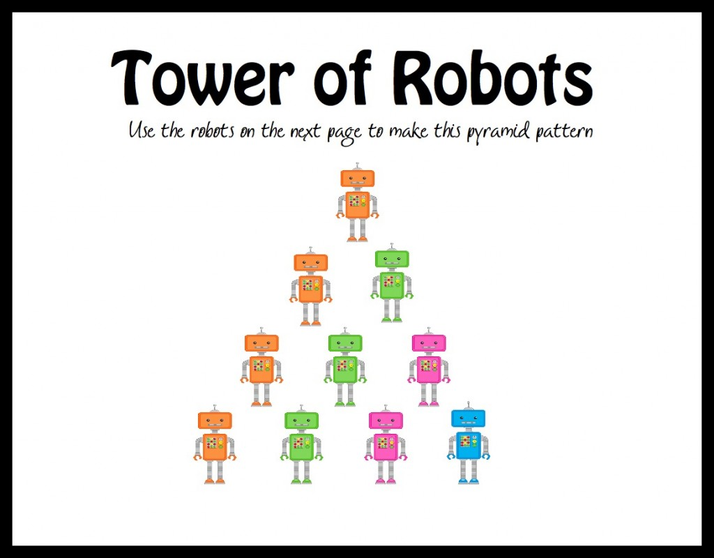 tower of robots