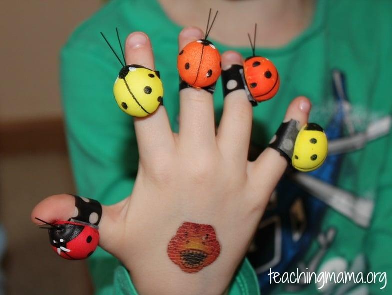 5 Ladybugs
