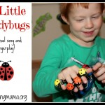 5 Little Ladybugs {Song & Fingerplay}