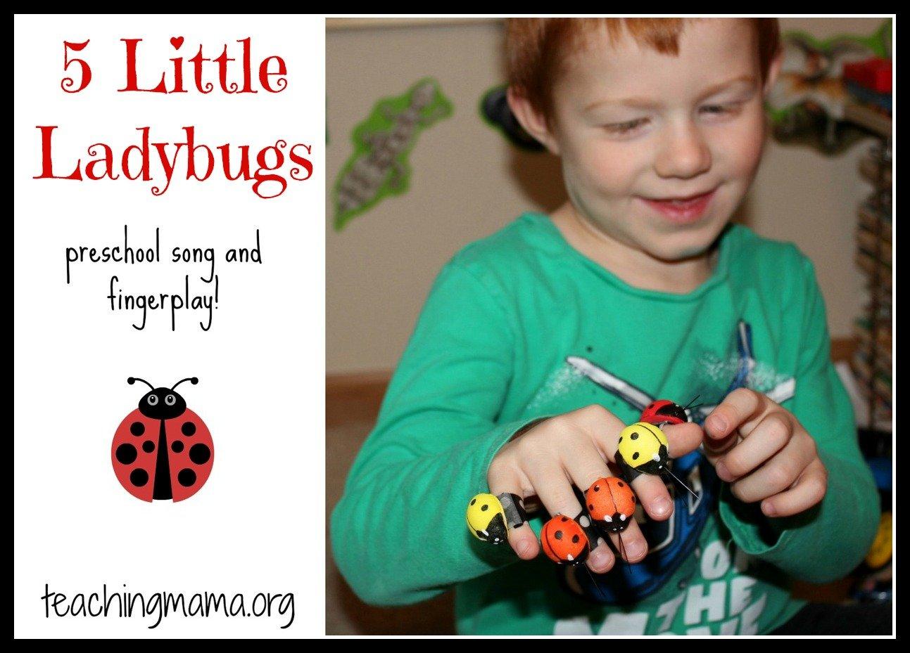 5 Little Ladybugs Song3