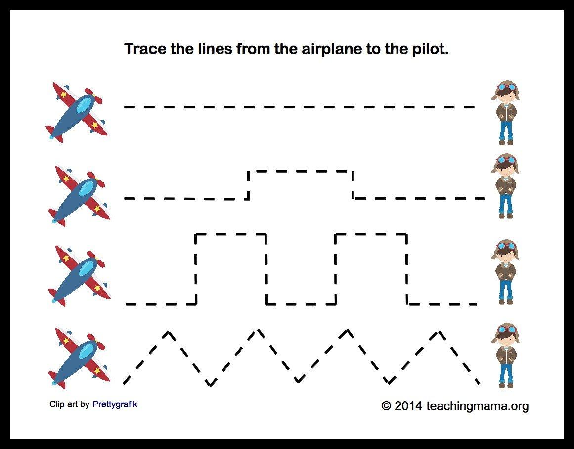 AisforAirplaneTracing