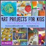 Art Projects for Kids & Pinning Party #36