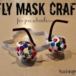 Fly Mask Craft for Preschoolers
