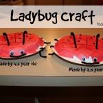 Ladybug Craft for Toddlers & Preschoolers