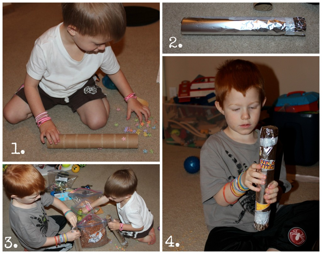 Steps for Building Rainstick