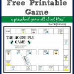 The House Fly Game — Free Printable Game for Preschoolers