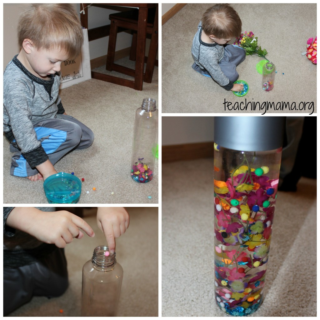 building sensory bottle
