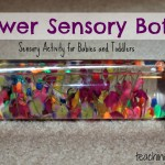 Flower Sensory Bottle