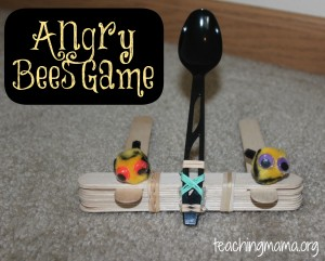 Angry Bees Game