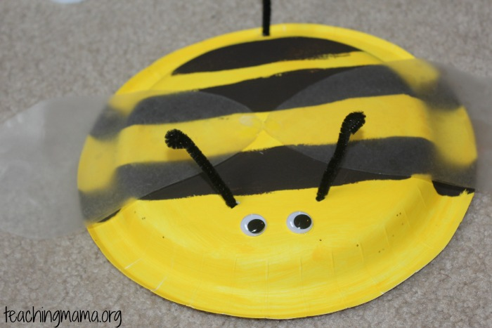 Bee & Bumble Bee Craft